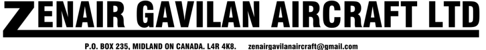 Zenair Gavilan Aircraft Ltd